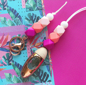 Flamingo Fling Key Ring Diffuser Bundle