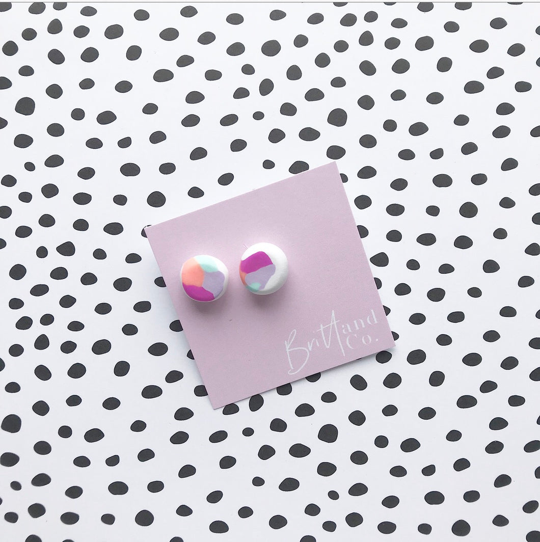 Fruit Tingle Statement Studs