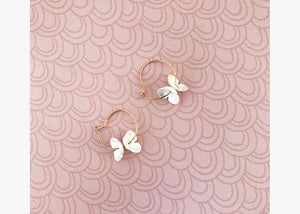 Mini Flower Statement Earrings