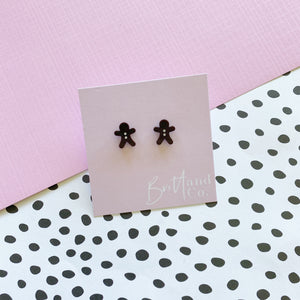 Chocolate Gingerbread Studs