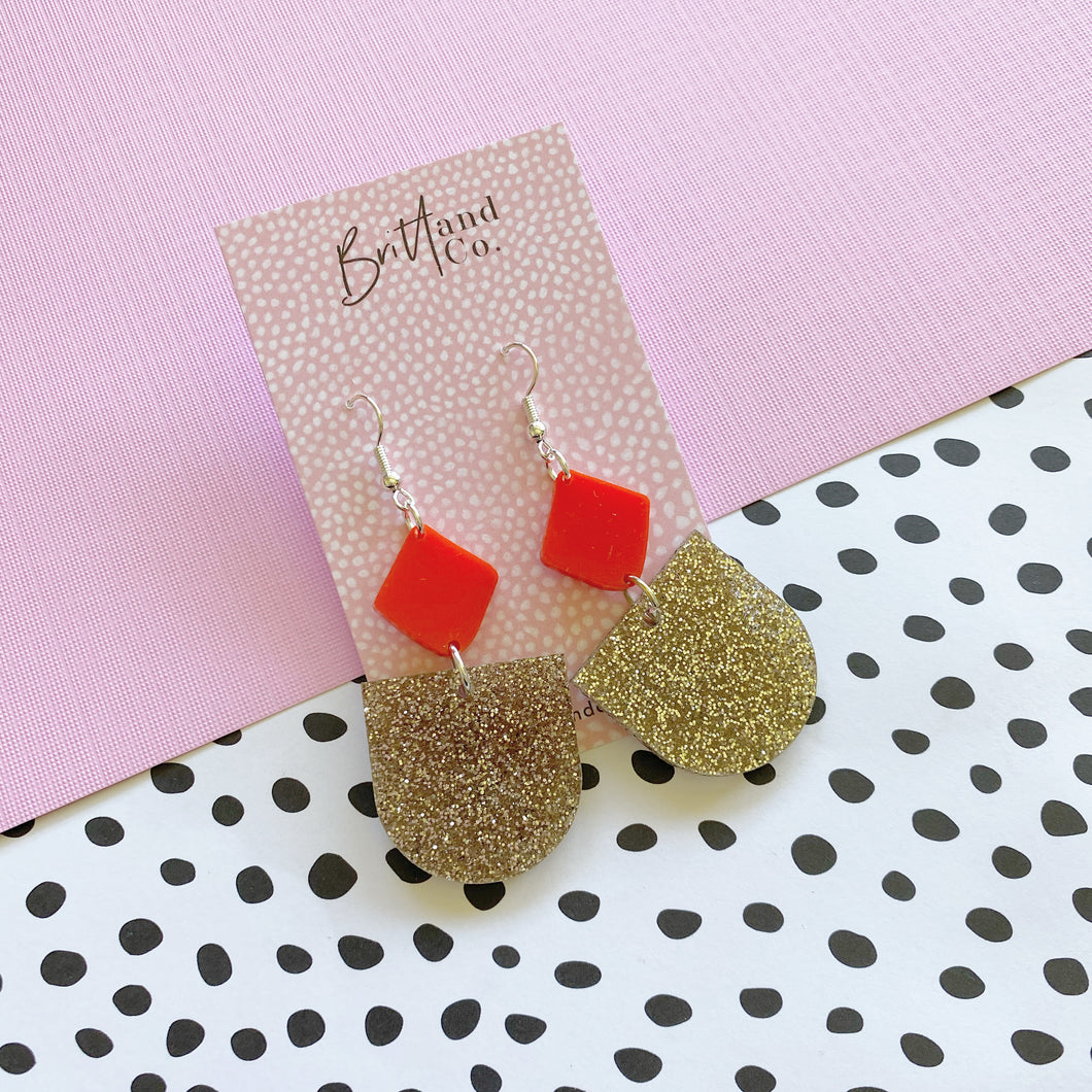 All I Want For Christmas Statement Earrings