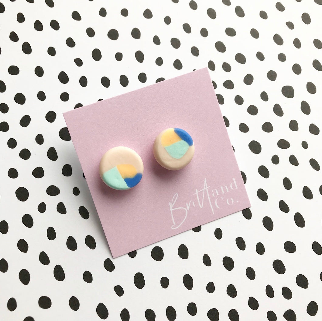 Molly Statement Studs