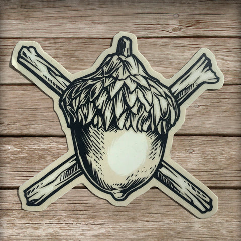 Nature Pirate Sticker