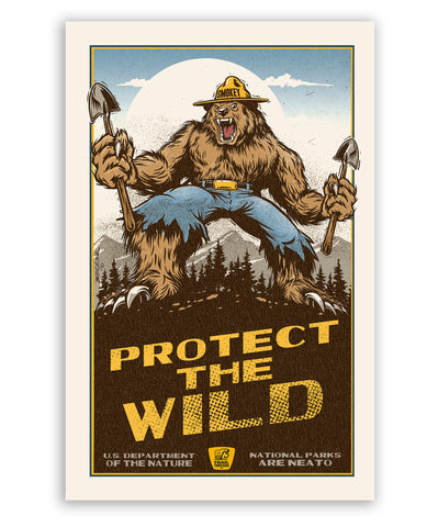 Protect the Wild 11x17 Print
