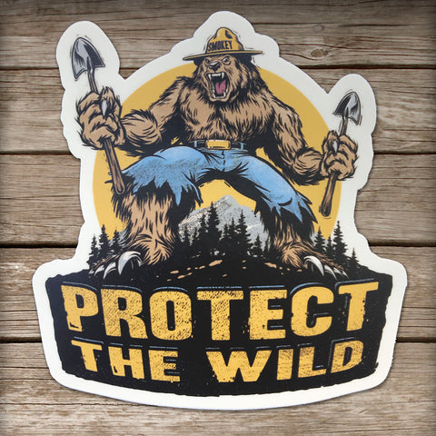 Protect the Wild Sticker