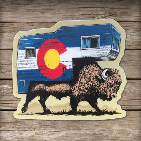 Roam Colorado Sticker