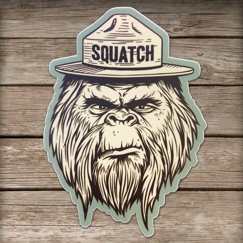 Squatch Sticker