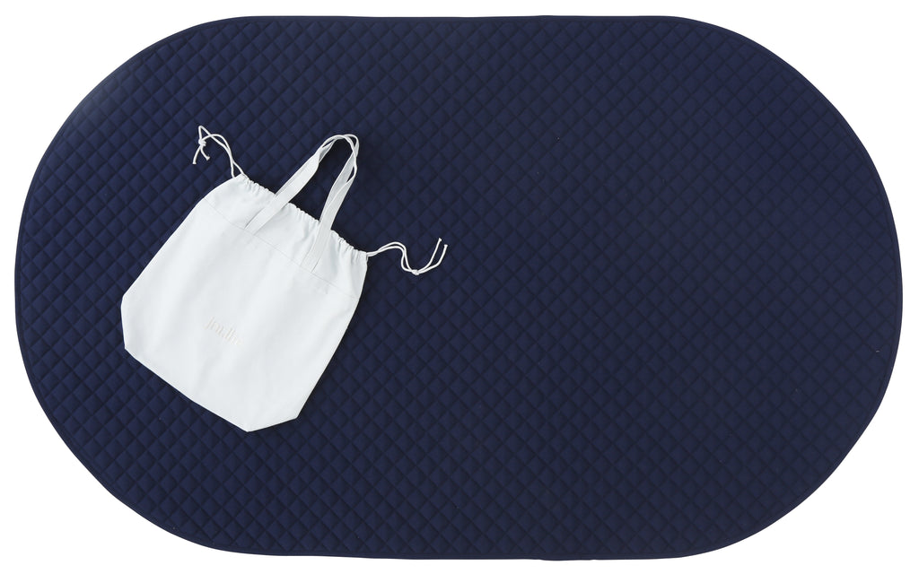 playmat oval • navy