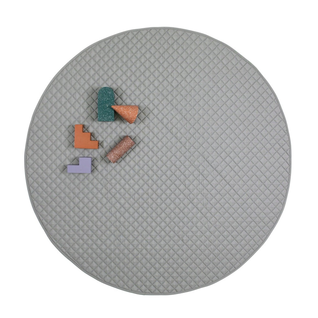 playmat round • grey