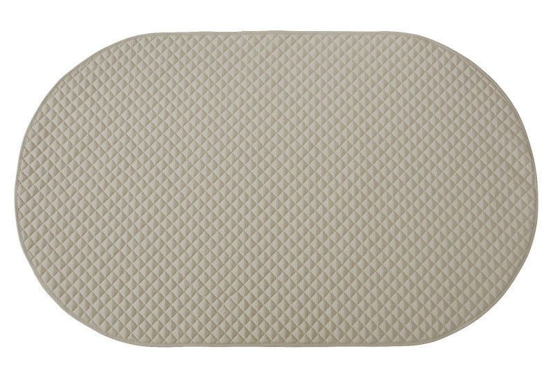 playmat oval • stone