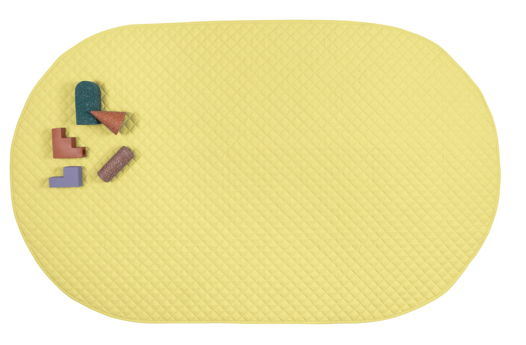 playmat oval • lemonade