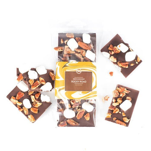 Rocky Road Chocolate Bar- Milk Chocolate