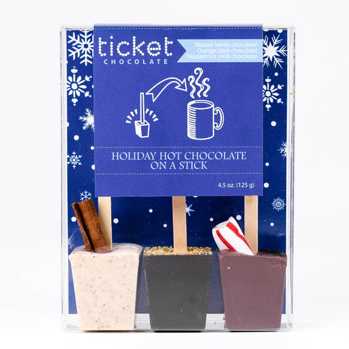 Hot Chocolate on a Stick- Pack of 3