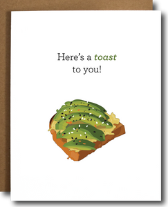 Toast To You Celebration Card
