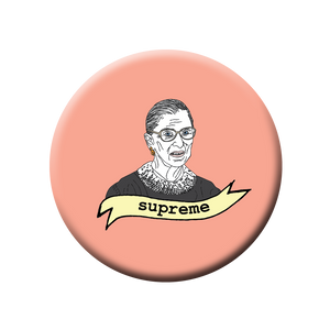 RBG Supreme Button/Magnet/Bottle Opener