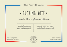 Fucking Vote Candle