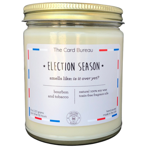 Election Season Candle