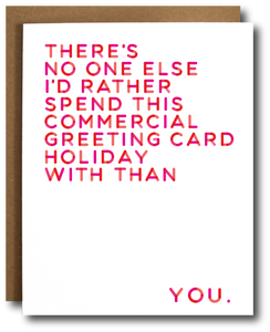 Commercial Greeting Card Holiday