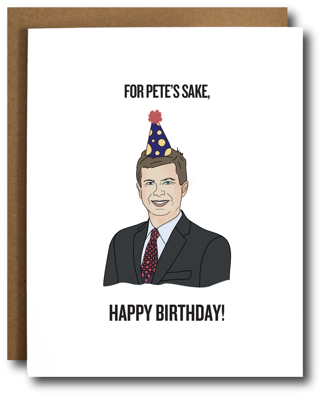 Pete Buttigieg Birthday Card