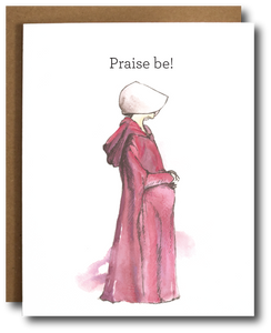 Handmaid's Tale 'Praise Be' card