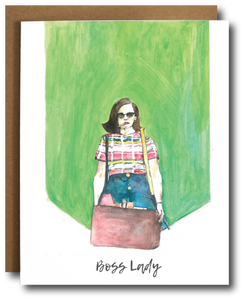 Mad Men Peggy Olson 'Boss Lady' card