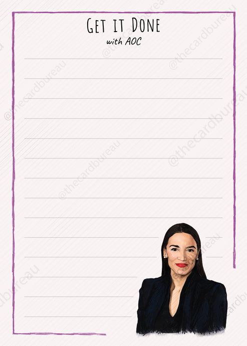 AOC Get it Done Notepad