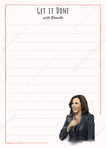 Kamala Harris Notepad