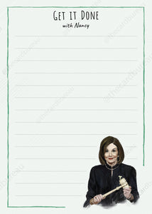 Nancy Pelosi Get it Done Notepad