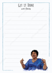 Stacey Abrams Get it Done Notepad