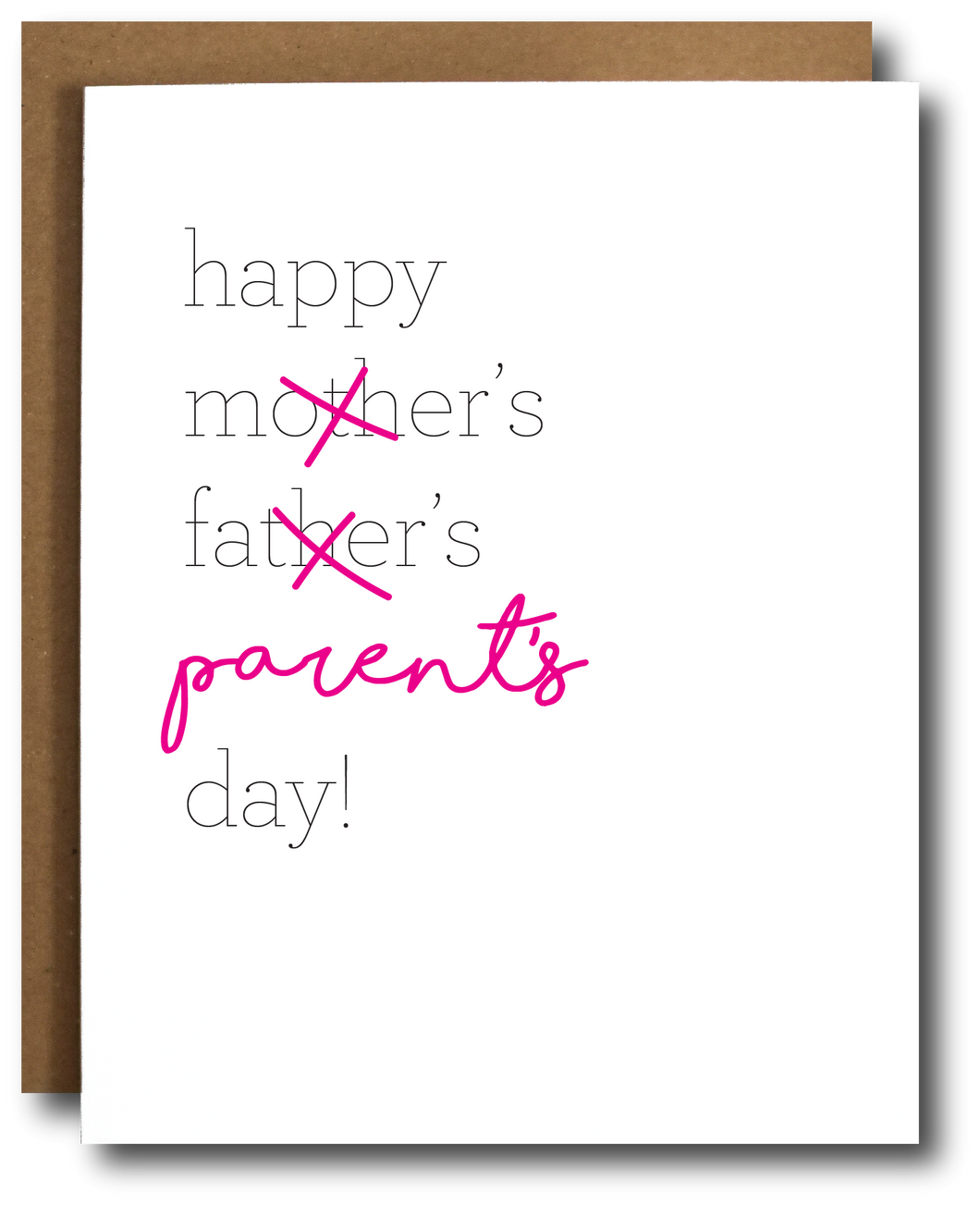 Parent's Day Card