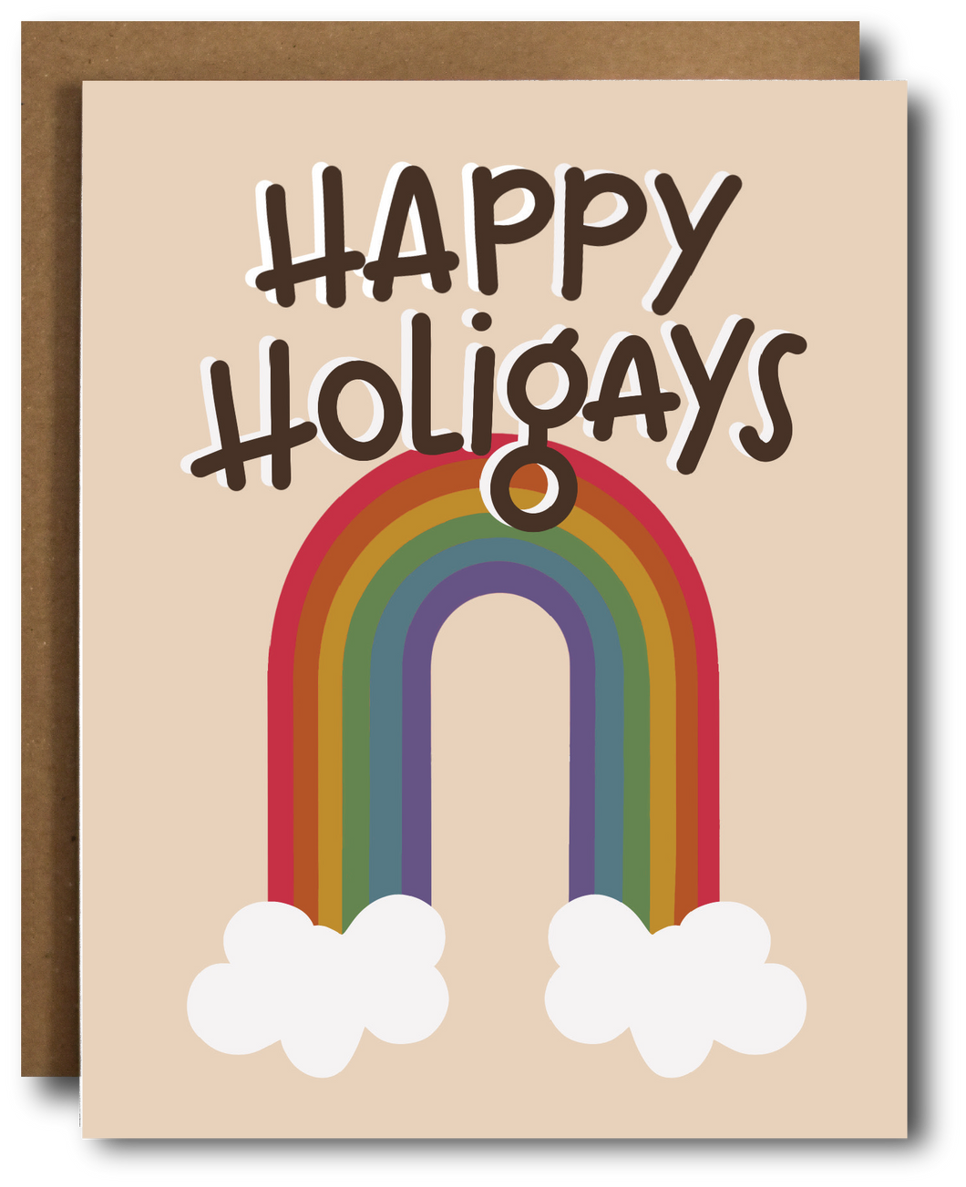 Happy Holigays Pride Card