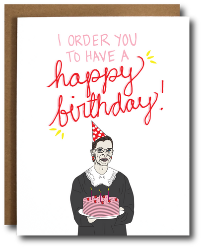 Ruth Bader Ginsburg 'Happy Birthday'