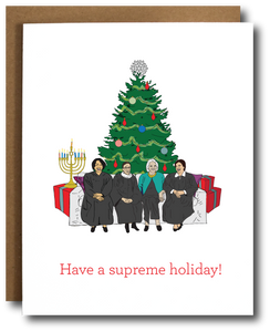 SCOTUS Ladies Holiday Card