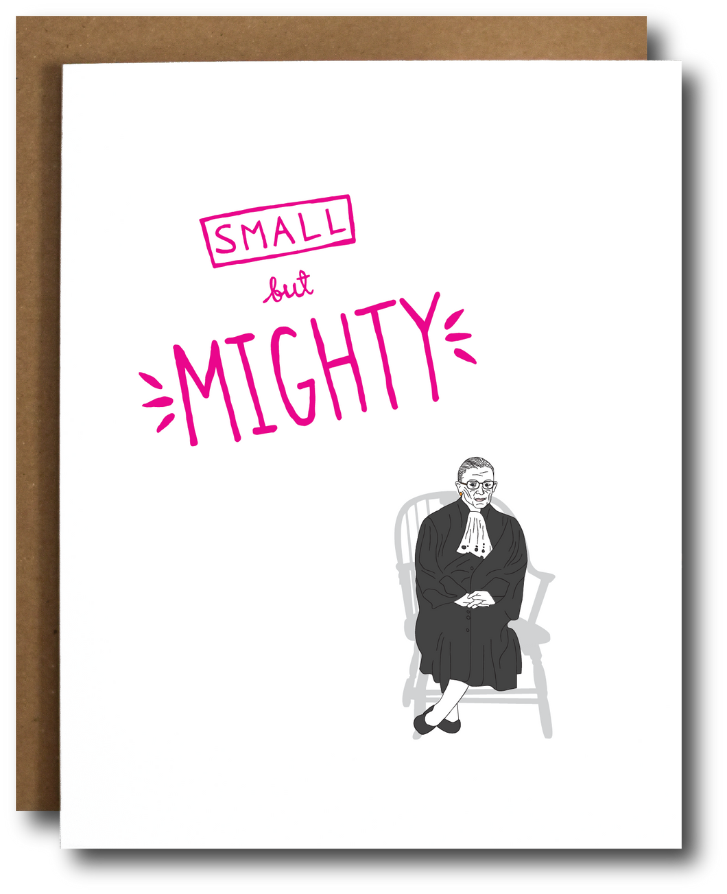 Ruth Bader Ginsburg 'Small but Mighty'