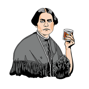 Susan B. Anthony Sticker