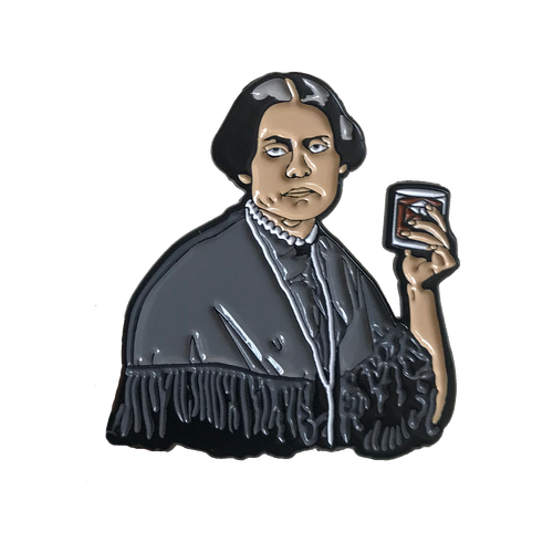 Susan B. Anthony Enamel Pin