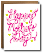 Hand Lettered Mother's Day Card