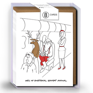 BOXED SET - Emotional Support Reindeer