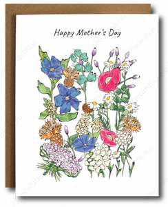 Wild Mother's Day Card