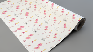 Ice Skate Dreams Wrapping Paper Roll