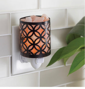 Kiara Himalayan salt lamp pluggable warmer