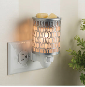Filligree plugable warmer