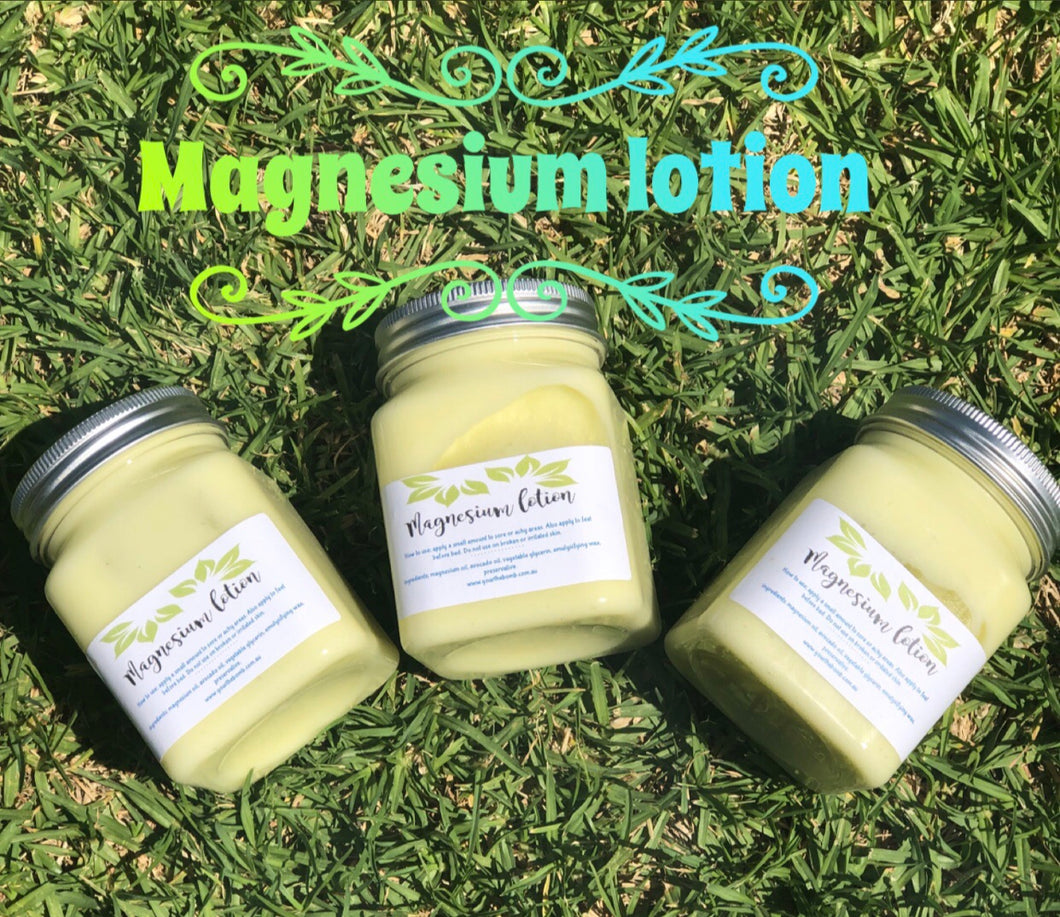 Magnesium lotion