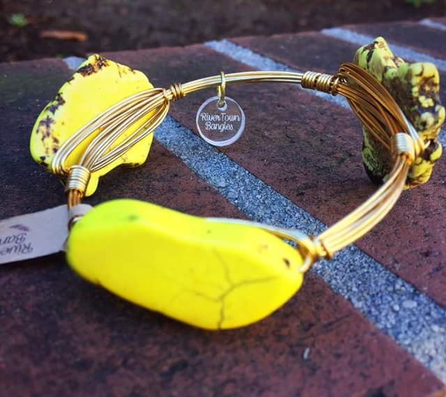 Yellow Stone Bangle