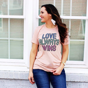 Love Always Wins T-shirt