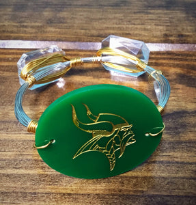 Latta Vikings School Mascot Bangle