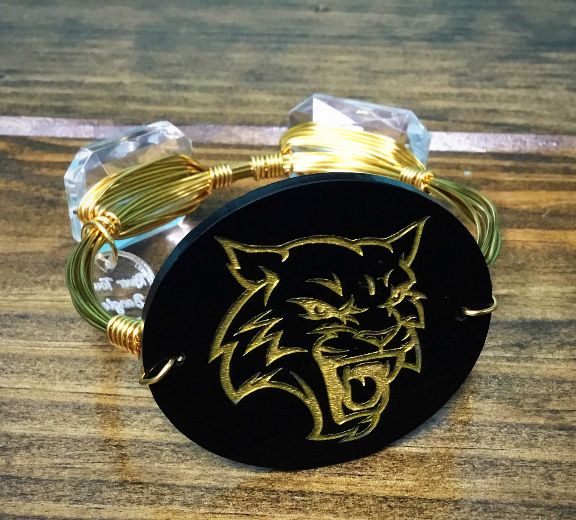 Dillon Wildcat School Mascot Bangle