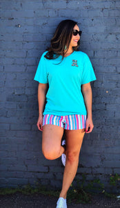 Striped JLB shorts