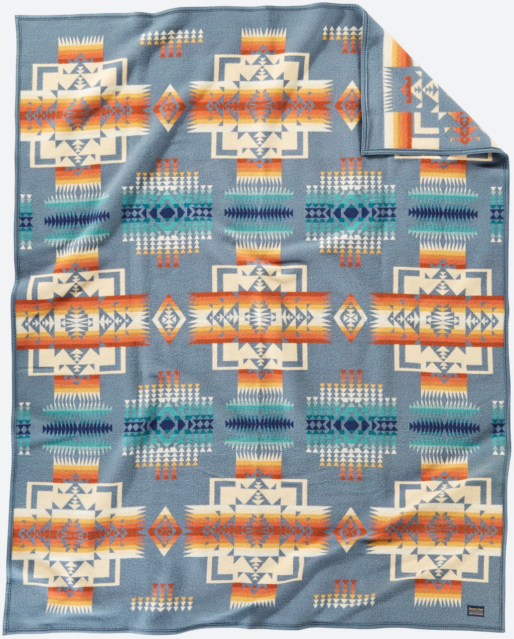 PENDLETON - CHIEF JOSEPH - SLATE Blanket Robe