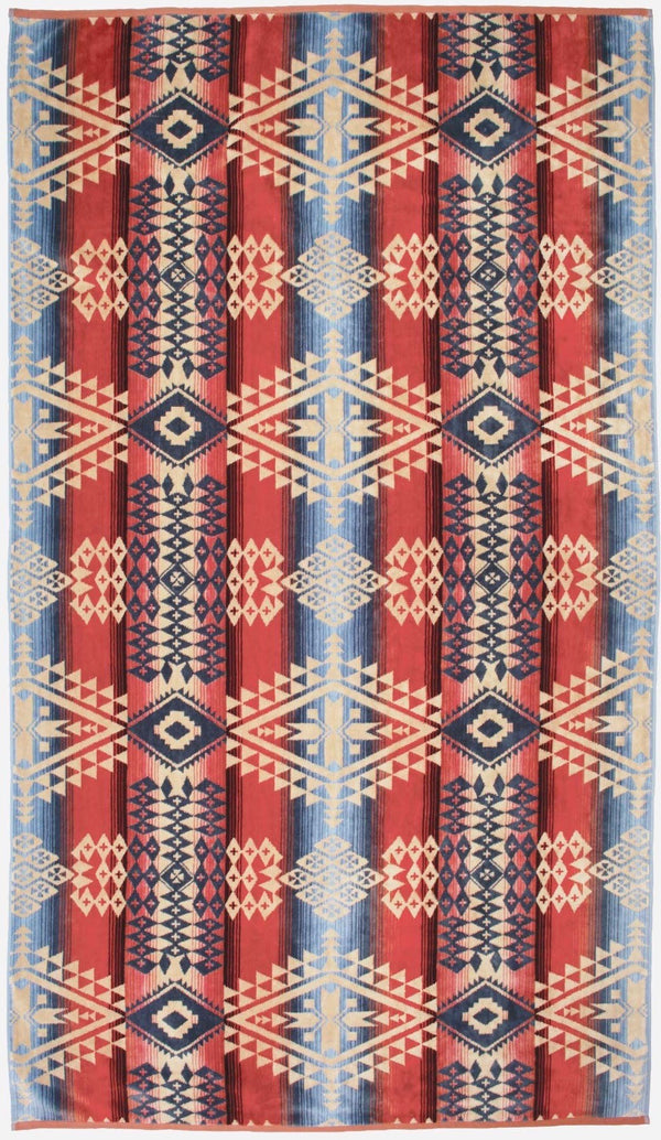PENDLETON - OVERSIZED JACQUARD TOWEL -  Canyonlands